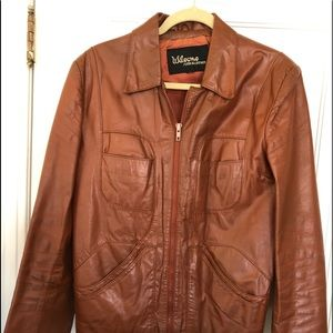 Wilson's Mens leather jacket. Size 40